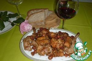 Рецепт Кролик по-охотничьи с оливками