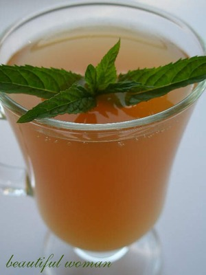 Apple kvass