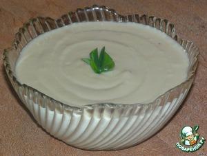 Рецепт Фасолевый соус,  почти как майонез