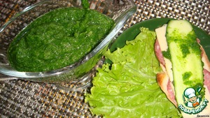 Рецепт Зелeная аджика