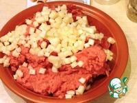 Мясное суфле с сыром ингредиенты