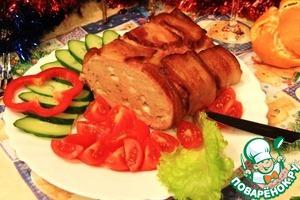 Рецепт Мясное суфле с сыром