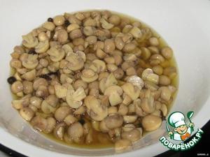 Рецепт: Маринованные грибы быстрого приготовления