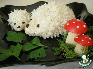 Рецепт: Мясные ёжики