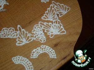 Рецепт Изготовление украшений из айсинга