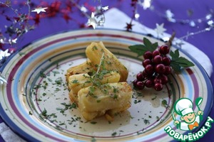 Рецепт Праздничный слоеный картофель