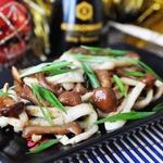 """Закуска из кальмара и грибов """"Новый год в Пекине"""""""