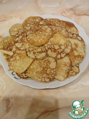 Рецепт Картофельные мини блинчики