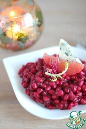 Рецепт Белая фасоль в свекольном масле