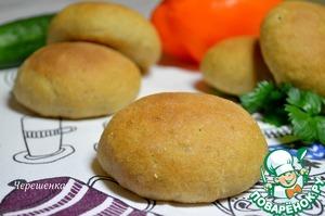 Рецепт Диетические булочки для гамбургеров