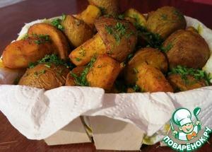 Рецепт Картофельные грибы