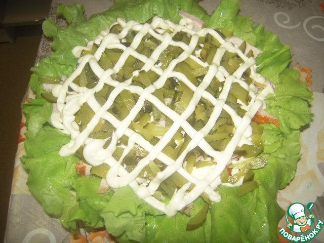 Салат нежный с консервой рецепт пошагово