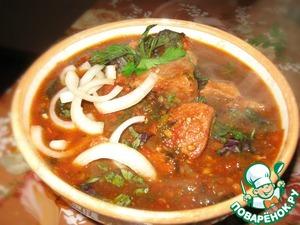 Рецепт Чахохбили из курицы (говядины)