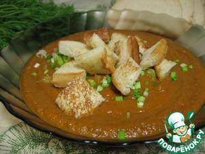 Рецепт Томатно-чечевичный суп-пюре
