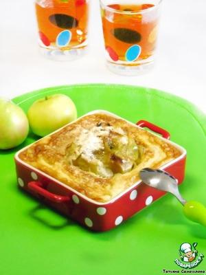 Рецепт Яблоки в манном суфле