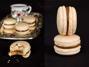 Рецепт Macarons с соленой карамелью