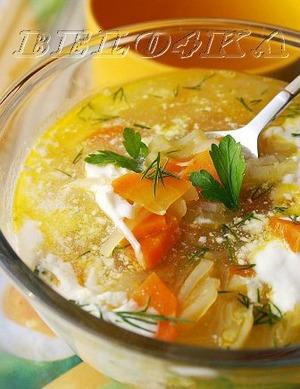 """Рецепт: Суп с сельдереем """"Легкий"""""""