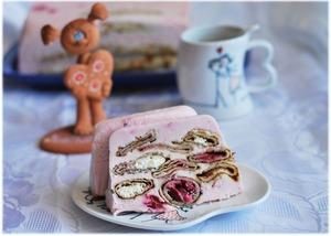"""Рецепт Блинный торт """"С Масленицей, Любимый!"""""""