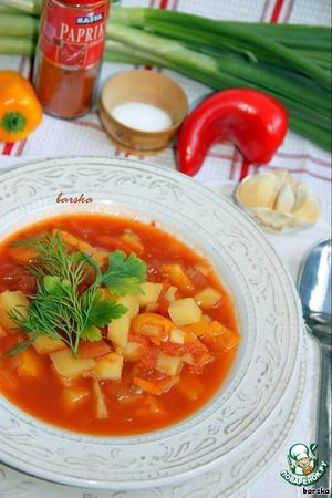 Рецепт Постный суп-гуляш