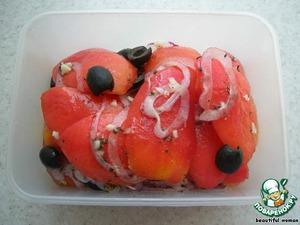 Рецепт Карпаччо из помидор