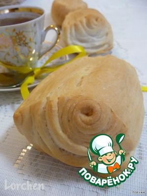 "Рецепт Итальянские булочки ""Le Mantovani"""