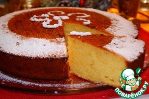 Рецепт Василопита-новогодний греческий пирог