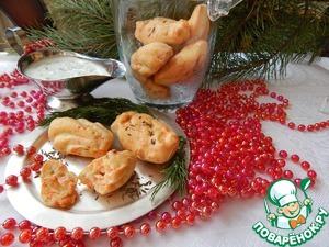Рецепт Закусочные мадленки с лососем