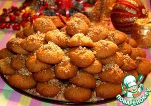 """Греческое рождественское печенье """"Меломакарона"""""""