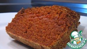 Рецепт Кекс из морковной муки