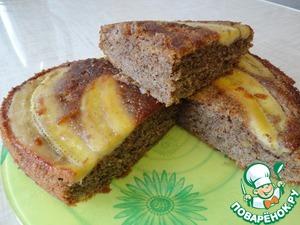 Рецепт Бананово-миндальный пирог