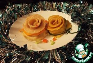 Рецепт Новогодний картофельный подарок