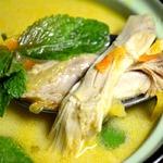 Тайский куриный бульон с мятой