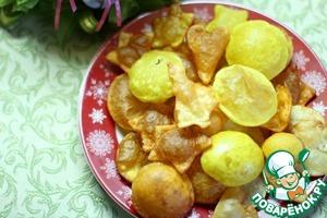Рецепт Чипсы чечевичные