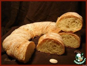 Рецепт Хлеб-бублик Ciambella