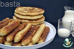 Рецепт Пирожки на картофельном тесте