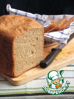 Рецепт Яично-ржаной хлеб
