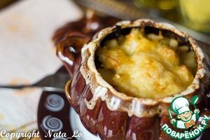 Рецепт Говядина с картофелем в горшочке