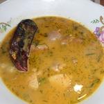Крестьянский жареный суп