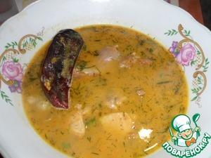 Рецепт Крестьянский жареный суп