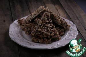 Рецепт Гозинаки (Грецкие орехи с медом)
