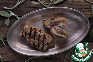 Рецепт Андалузская отбивная c изюмом и орегано