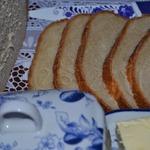 Хлеб с пахтой