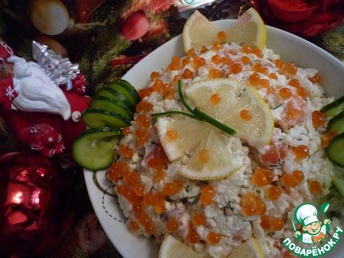 "Салат ""Нежная рыбка"" – кулинарный рецепт"