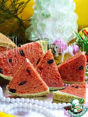 Рецепт: Хлеб Дольки арбуза