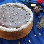 """Творожный пирог """"Новогодняя ночь"""""""