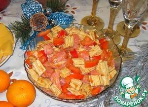 Как приготовить Салат из спаржи и форели домашний рецепт приготовления с фотографиями пошагово