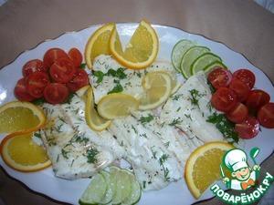 Рецепт Рыба с цитрусовым ароматом