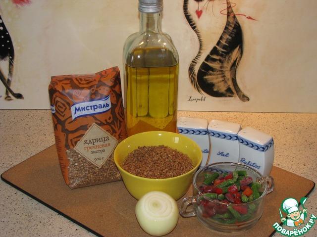 Маринованная стручковая фасоль  кулинарный рецепт