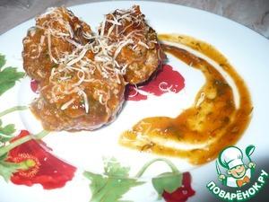 Рецепт Фрикадельки из баранины с кинзой в томатном соусе