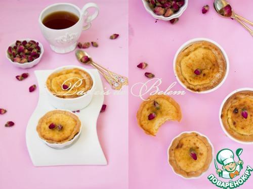 Португальские сливочные пирожные